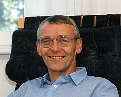 Stefan Zenker in his office at Swedish Space Corporation